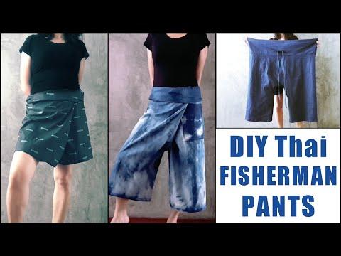 DIY Thai Fisherman Pants