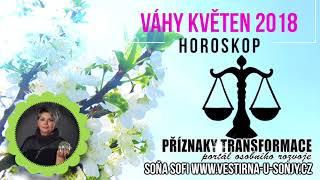VÁHY HOROSKOP KVĚTEN 2018 Soňa Sofi