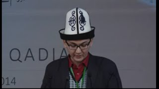 Jalsa Salana Qadian 2014 Ilyas Kabatov Sahib from Kyrgyzstan
