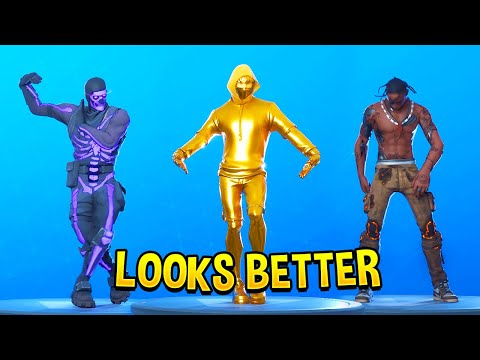 TOP 200 FORTNITE DANCES & EMOTES LOOKS BETTER WITH THESE SKINS (Fortnite Battle Royale)