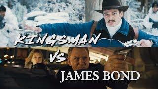 Kingsman VS James Bond - The Evolution of The Spy Movie