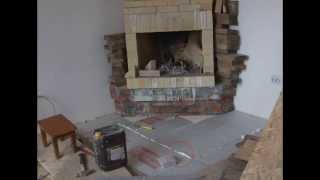 Утепление бетонного пола полистиролом (каркасный дом)(Утепление бетонного пола в доме производится по следующей схеме: 1. Подметается пол. 2. Грунтуется пол. 3...., 2015-02-07T17:19:24.000Z)