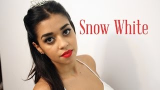 Once Upon a Time - Snow White Makeup - FashionOsOlhos