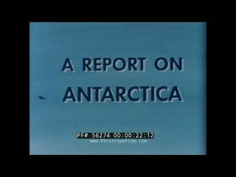 DOUGLAS AIRCRAFT  1958 ANTARCTIC OPERATIONS PRESENTATION FILM  56274