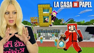LA CASA DE PAPEL ΗΡΘΕ ΝΑ ΚΛΕΨΕΙ ΤΗΝ ΠΟΛΗ ΜΑΣ MINECRAFT LET'S PLAY KRISTINA @Famous Games