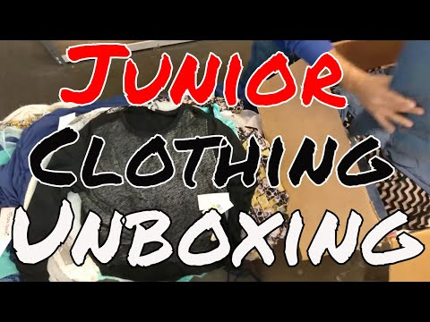 Unboxing: HE Department Store Junior Clothing Lots