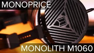 Monolith M1060 Planar Magnetic Headphones by Monoprice | First Impressions | Unboxing | Review