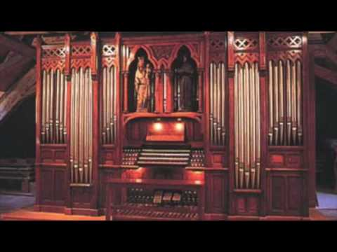 Jehan Alain Trois Danses on vintage 1889 Father Willis Organ at Ewell