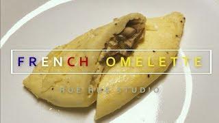 촉촉하고 부드러운 오믈렛 만드는법 how to make french omelet[ [omelette]