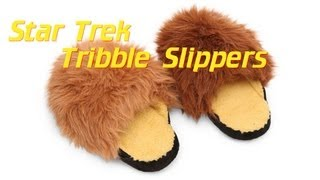 Star Trek Tribble Slippers with Sound from ThinkGeek