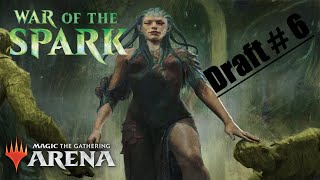 MTG Arena War of the Spark Bo3 Draft The Sixth!