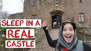 Stay in a CASTLE for less than £20! Medieval Feast & Caste Tour | England Road Trip Travel Vlog 18