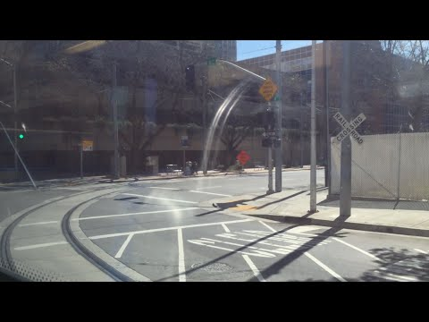 Riding Sacramento Light Rail Gold Line Inbound 8th & Capitol to Sacramento Valley Station