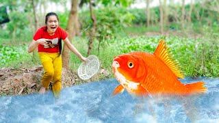 Gambar cover Ông Lão Đánh Cá Và Con Cá Vàng ❤ Sự Tích Con Cá Thần - Trang Vlog