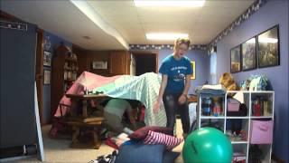 Building The Blanket Fort (kelli And Ben Den)