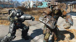 Paladin Danse vs Strong - Fallout 4