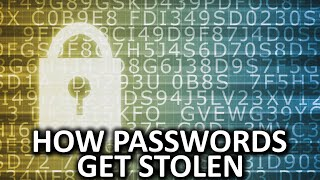 How Do Passwords Get Stolen?