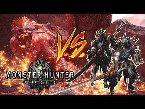 TEOSTRA ARCHI - CURTIDO solo (1er Intento) - Monster Hunter World (Gameplay Español)