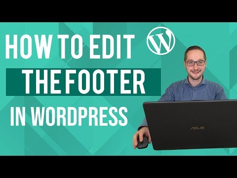 How to edit footer in Wordpress Tutorial thumbnail