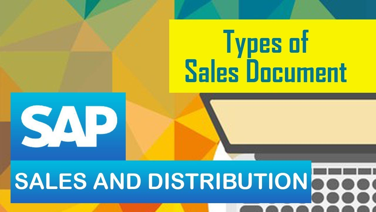 SAP SD   Types of Sales Documents in SAP SD   SAP Sales & Distribution  Module