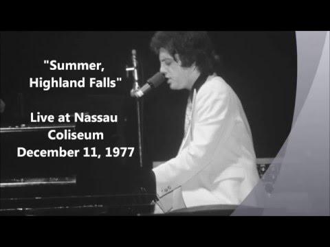 Summer, Highland Falls - Billy Joel Live at Nassau Coliseum (12-11-1977)