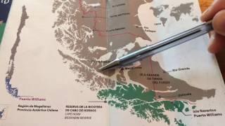【チリ】World's Southernmost City Puerto Williams Part-1(世界最南端の町プエルトウィリアムズその①)