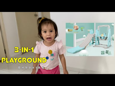 3 In 1 Slide Playground - Unboxing Video