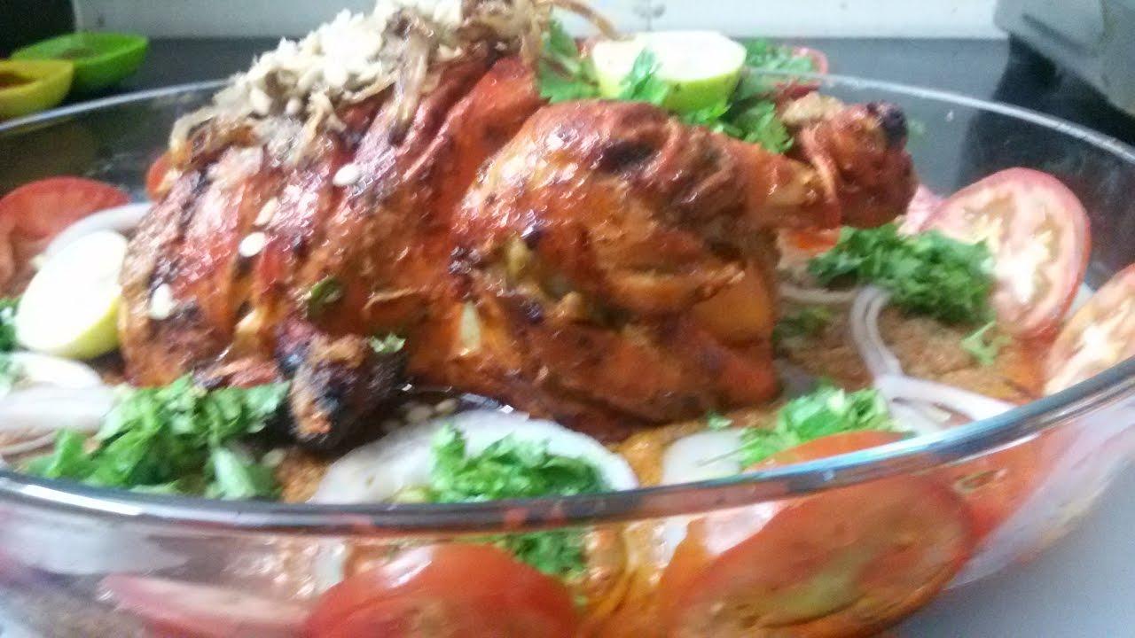 Murgh Musallam In Microwave Oven In Hindi Youtube