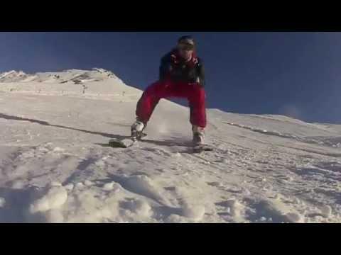 Très grosse chute à Ski de ToutDroitMan en tentative de record 121,1 Km/h