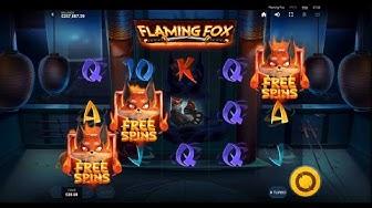 Flaming Fox Bonus Feature  (Red Tiger)