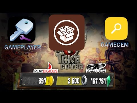how to use GamePlayer for IOS 9+ alternative ( Gamegem ) hack take cover new game