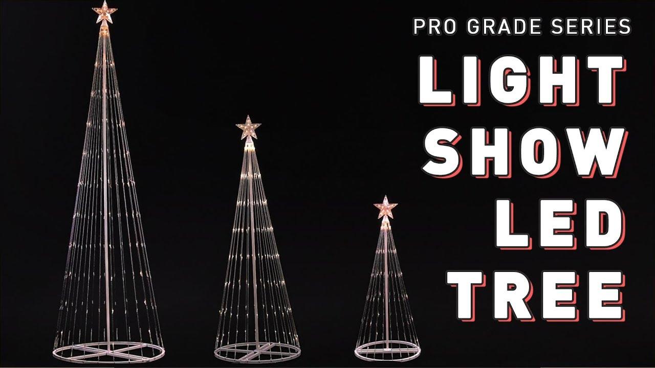 Pro Grade Series Led Light Show Tree