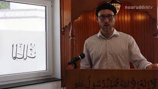 DIE KHUTBA FOLGE 33 - 14 08 2015 Majlis Khuddam ul Ahmadiyya Deutschland NuuruddinTV