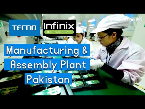 Tecno Mobile Manufacturing & Assembly Plant in Pakistan | GharanaPK from YouTube · Duration:  37 seconds