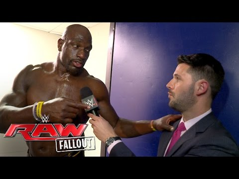Titus O'Neil refuses to sit back and wait to be a champion: Raw Fallout, June 27, 2016