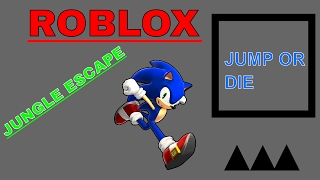 ROBLOX::JUNGLE ESCAPE... the play doh is taking over my mind.....