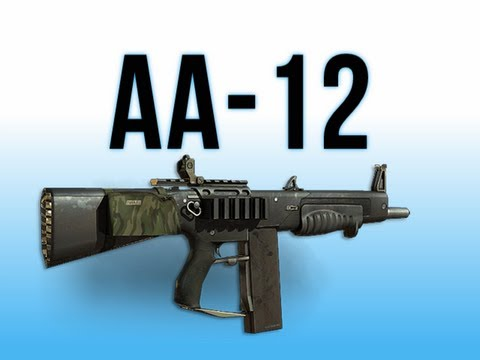 MW3 In Depth - AA-12 Shotgun