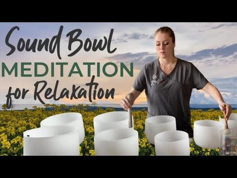 10 Minute Crystal Sound Bowl Meditation