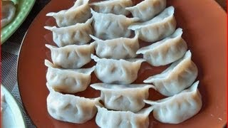 Repeat youtube video How to Make Dumplings & Wonton part 1 / Cooking Chinese Food 饺子, 馄饨