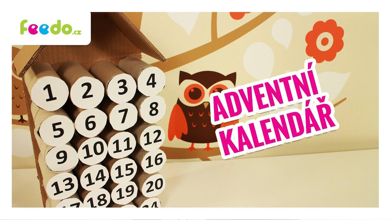 adventni kalendar diy DIY Adventní kalendář za pár korun!   YouTube adventni kalendar diy