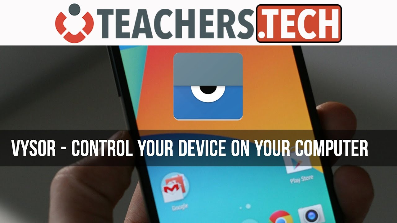 Control your Android on PC or Mac - Vysor
