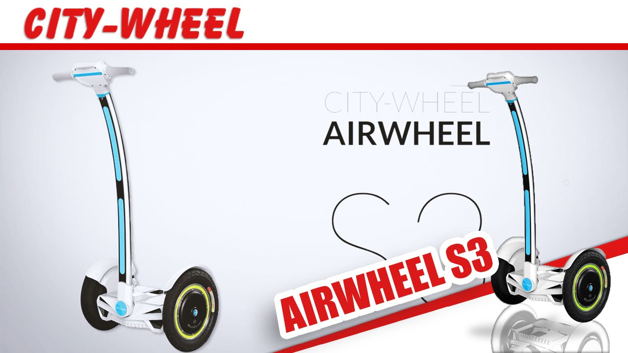 airwheel s3 test und review deutsch segway war gestern. Black Bedroom Furniture Sets. Home Design Ideas