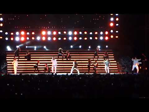 Backstreet Boys Larger Than Life live in Singapore 2017