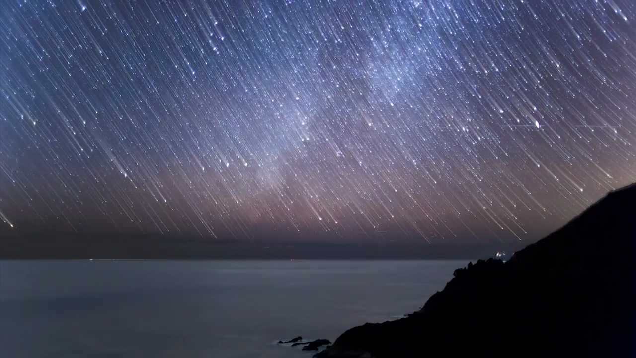Geminid Meteor Shower Time Lapse 2012 Youtube
