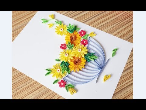 Paper Quilling Flower Wall Decoration Quilling Flower