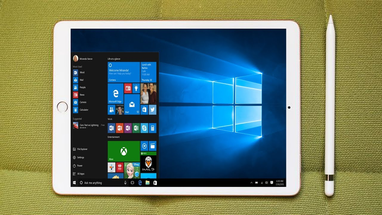 How To Install Windows 10 On Any Android Phone/Tablet ...