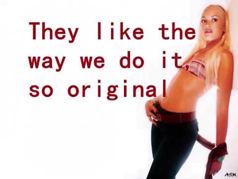 Gwen Stefani - Wind it up with lyrics