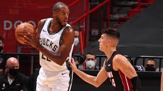 Highlights: Bucks 144  - Heat 97 | Bucks Set NBA Three Point Record | 12.29.20