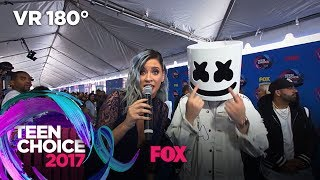 Marshmello Accepts A 7 Second Challenge | TEEN CHOICE