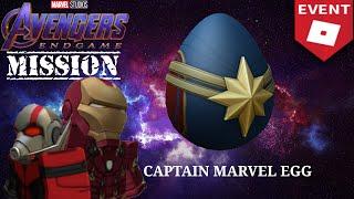 [ROBLOX AVENGERS: ENDGAME Mission] Captain Marvel Egg(EP.4)
